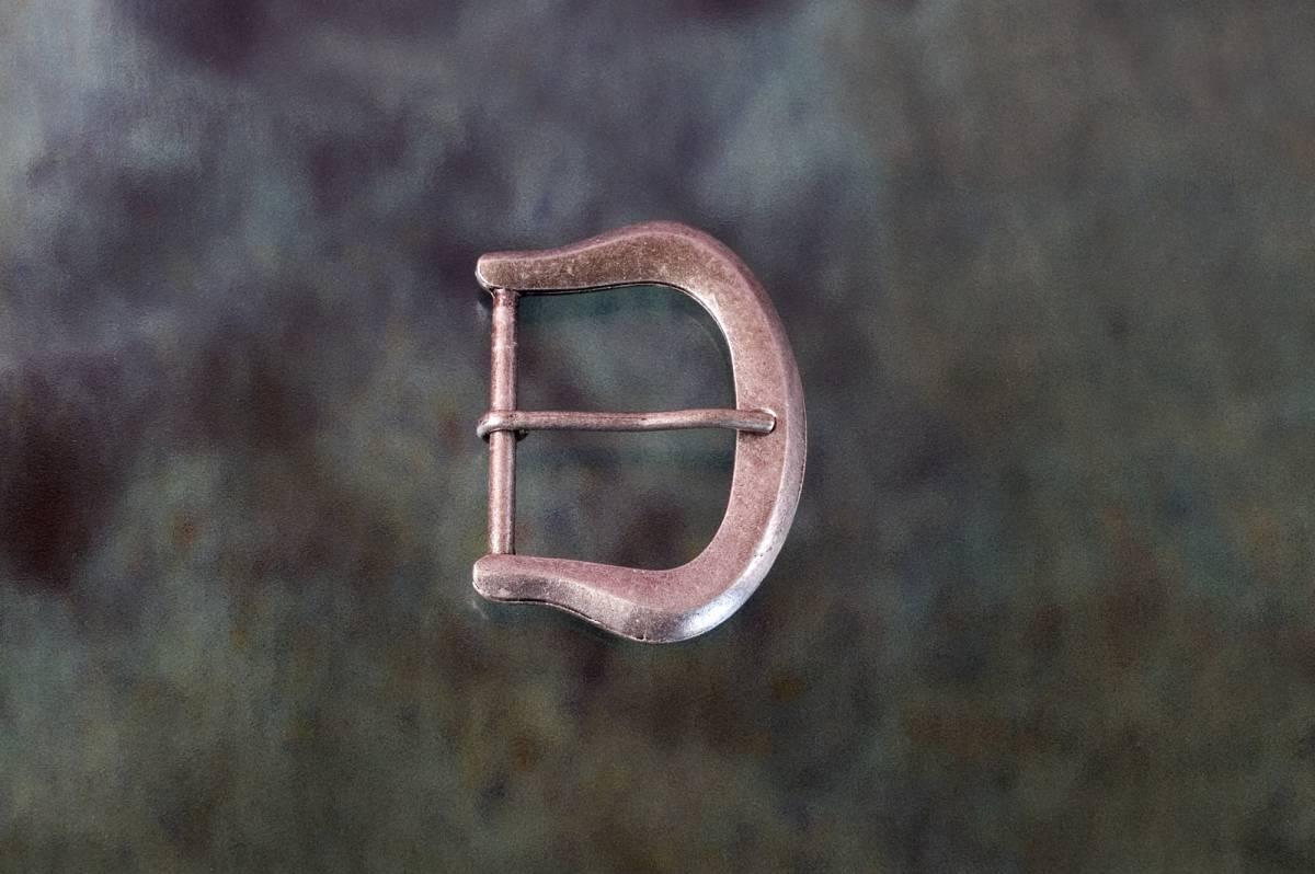 spona,spony, přezka, přezky - opasková spona hraněná 35 - staré stříbro