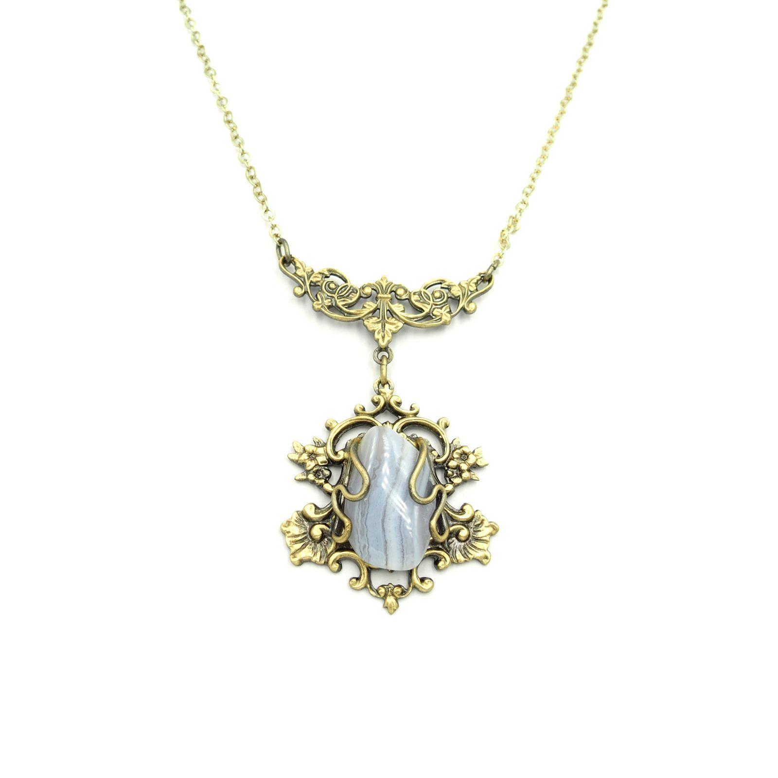 náhrdelník s přívěskem (j)