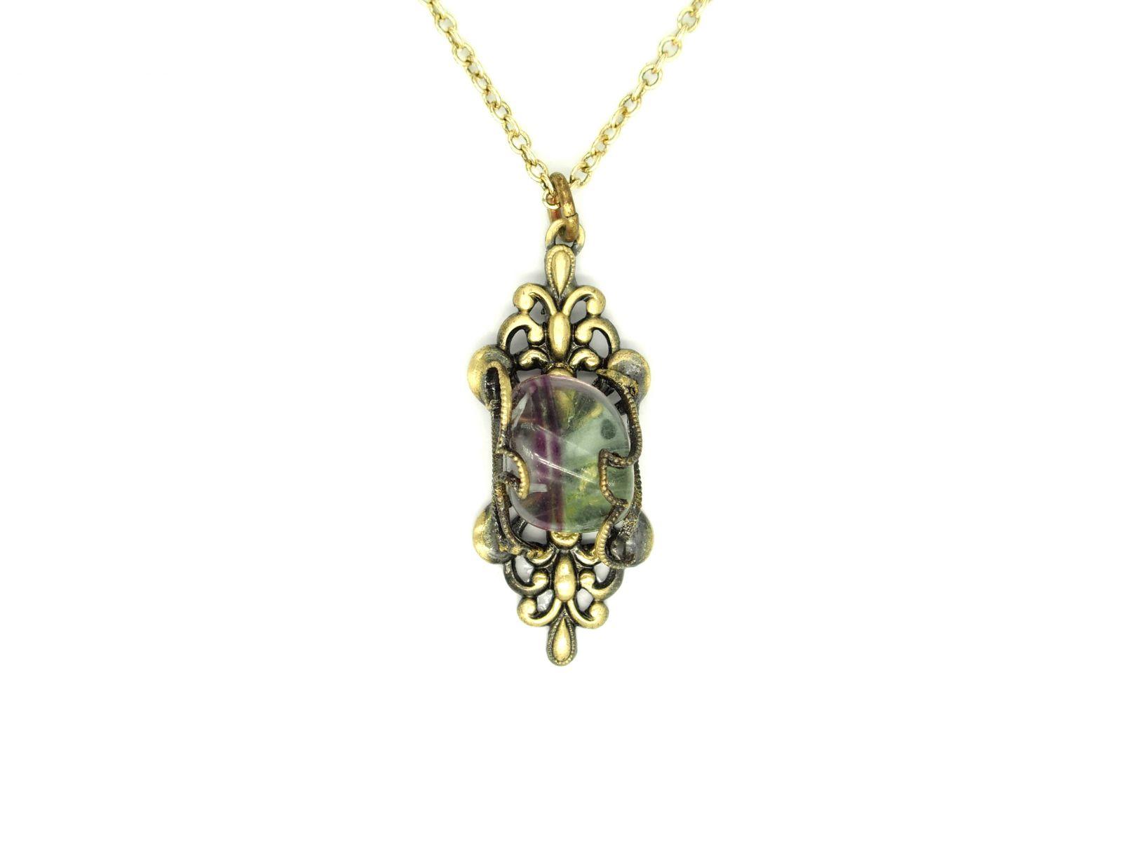 náhrdelník s přívěskem (f)