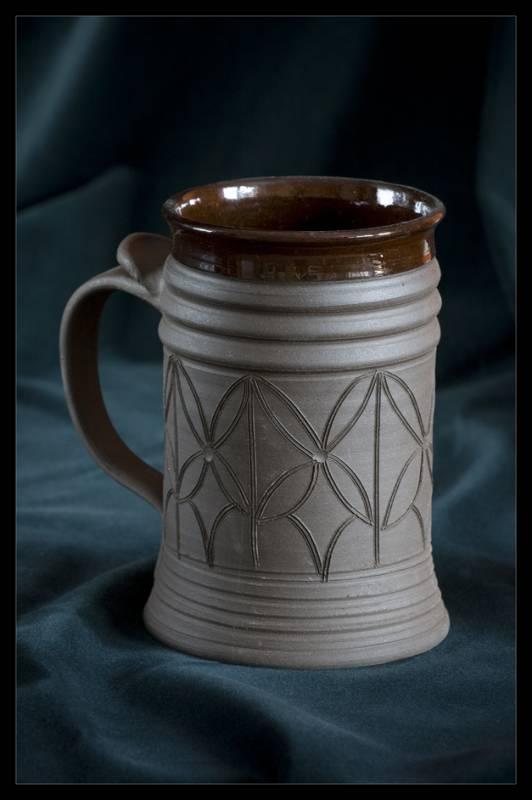 korbel na pivo, číše na víno, keramický pohár, keramika