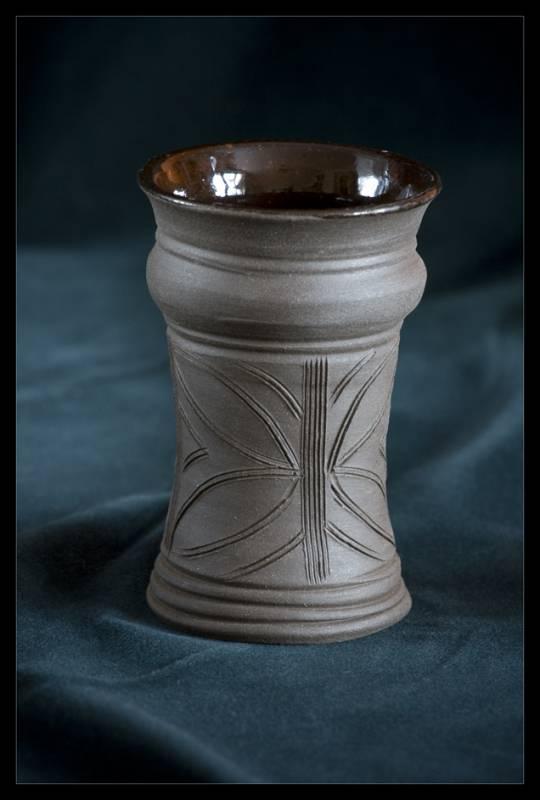 číše na víno, keramický pohár, pohárek, keramika